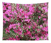 Wonderful Pink Azaleas Tapestry