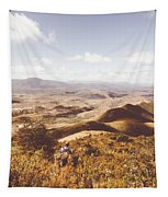 Wonderful West Coast Tasmania Views Tapestry