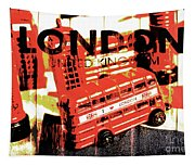 Wonders Of London Tapestry