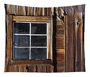 Wood And Window Tapestry
