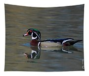 Wood Duck - Male Tapestry