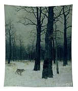 Wood In Winter Tapestry