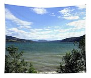 Wood Lake In Summer Tapestry