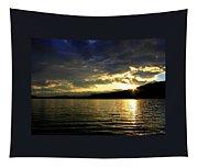 Wood Lake Sunburst Tapestry