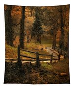 Wooded Path Tapestry