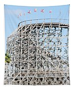 Wooden Coaster Tapestry