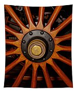Wooden Spokes Tapestry