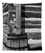Wooden Water Barrel Tapestry