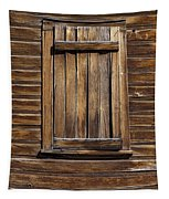 Wooden Window Tapestry
