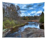 Woodhull Creek In May Tapestry