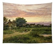 Worcestershire Cottages Tapestry