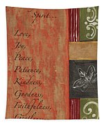 Words To Live By, Fruit Of The Spirit Tapestry