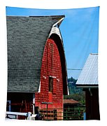 Working Barn Tapestry