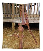 Working Hand Pump Tapestry
