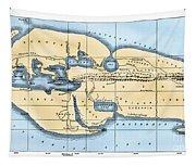 World Map: Eratosthenes Tapestry