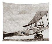 World War I: German Biplane Tapestry