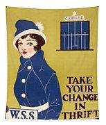 World War I: Thrift Stamps Tapestry
