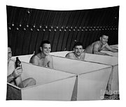 World War II Bath Time For Guys Tapestry