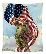World War One Soldier Tapestry by War Is Hell Store
