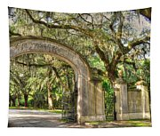 Wormsloe Gate Tapestry