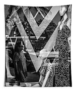 Worth Ave Reflections 0487 Tapestry