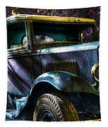 Wrecking Yard Fantasy Tapestry