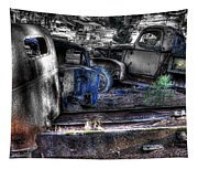 Wrecking Yard Study 12 Tapestry