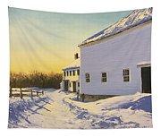 Wright-locke Farm And Squash House Tapestry