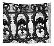 Wrought Iron Gate -west Epping Nh Usa Tapestry