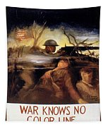 Wwii: Color Line Poster Tapestry