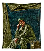 Wwii Radioman Tapestry