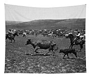 Wyoming: Cowboys, C1890 Tapestry