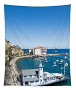 Yacht Club And The Casino Tapestry