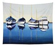 Yacht Harbor Tapestry
