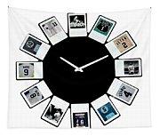 yankees Clock Tapestry