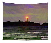 Yaquina Head Lighthouse Tapestry