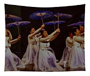 Year Of The Dog Umbrella Dance Tapestry