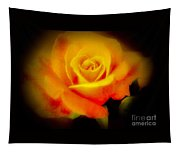Yellow And Red Rose Tapestry