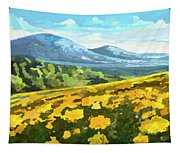 Yellow Blanket Tapestry