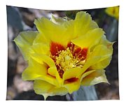 Yellow Blossom Tapestry