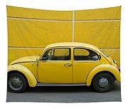 Yellow Bug Tapestry