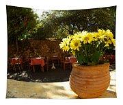 Yellow Chrysanthemum  Tapestry