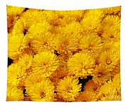 Yellow Chrysanthemums Tapestry