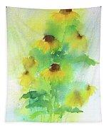 Yellow Coneflowers  Tapestry