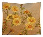 Yellow Daisies Tapestry