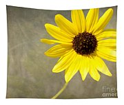 Yellow Daisy By Darrell Hutto Tapestry