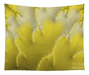 Yellow Feather Tapestry