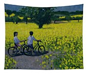 Yellow Field Tapestry
