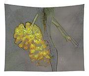 Yellow Flower Art Tapestry