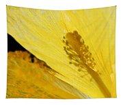 Yellow Flower - Hibiscus Shadow - Sharon Cummings Tapestry